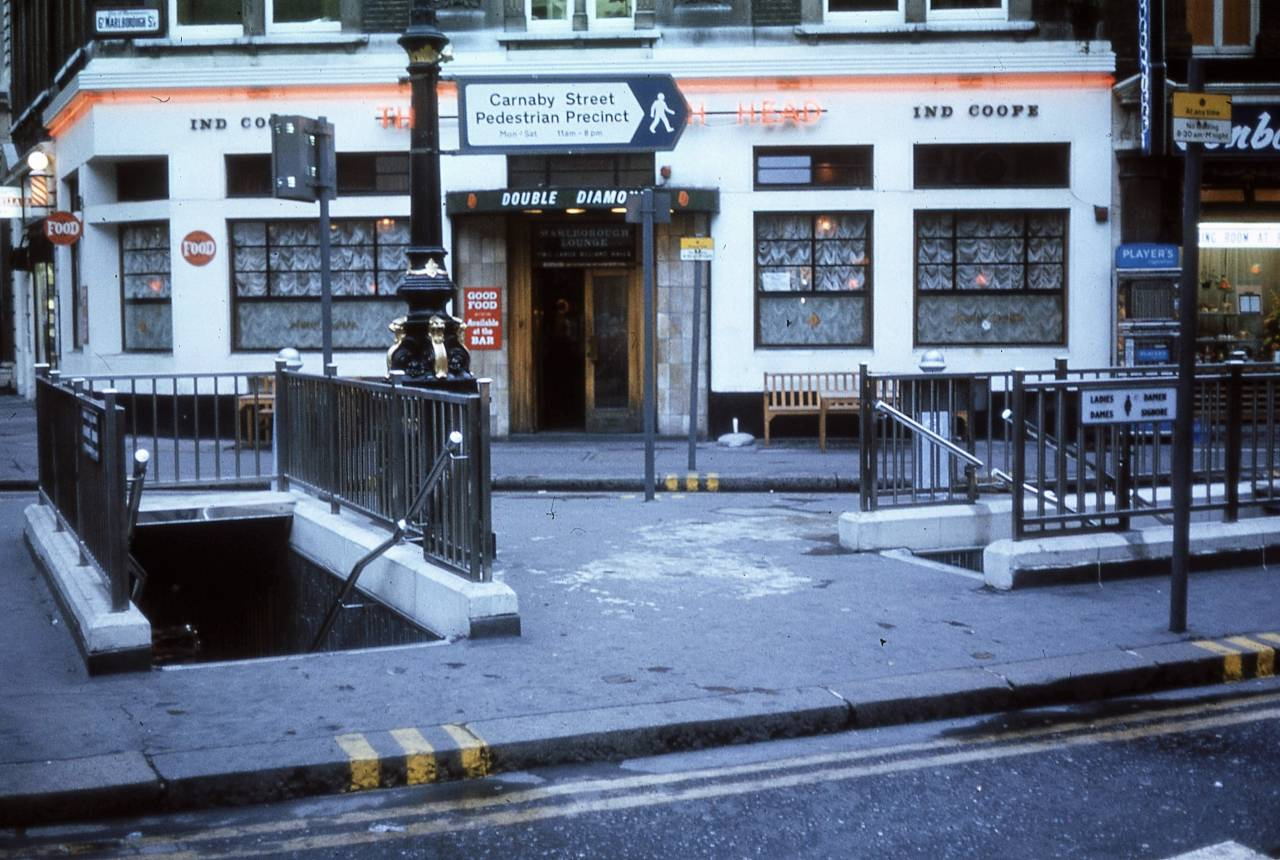 Great Marlborough St:Carnaby Street, London 1972