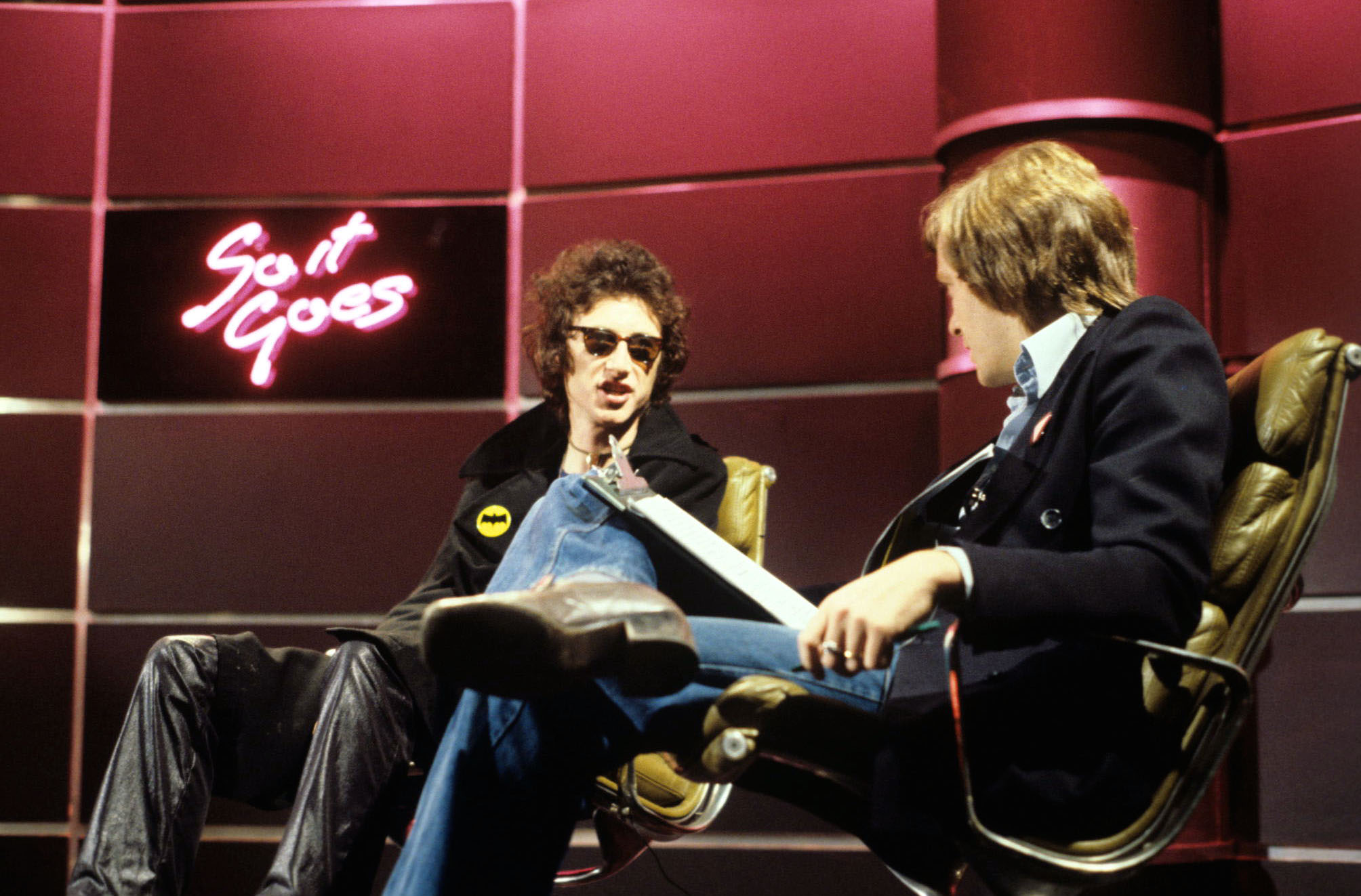 'So it Goes' TV - 1976 - John Cooper Clarke, Tony Wilson
