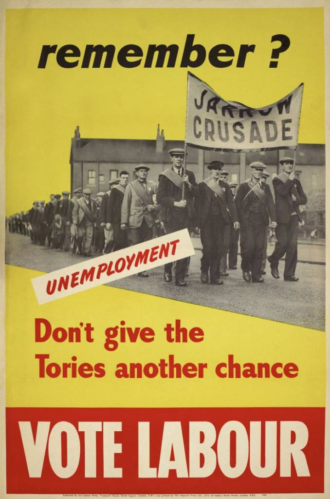 greet the dawn   u2013 labour party election posters from the 20th century