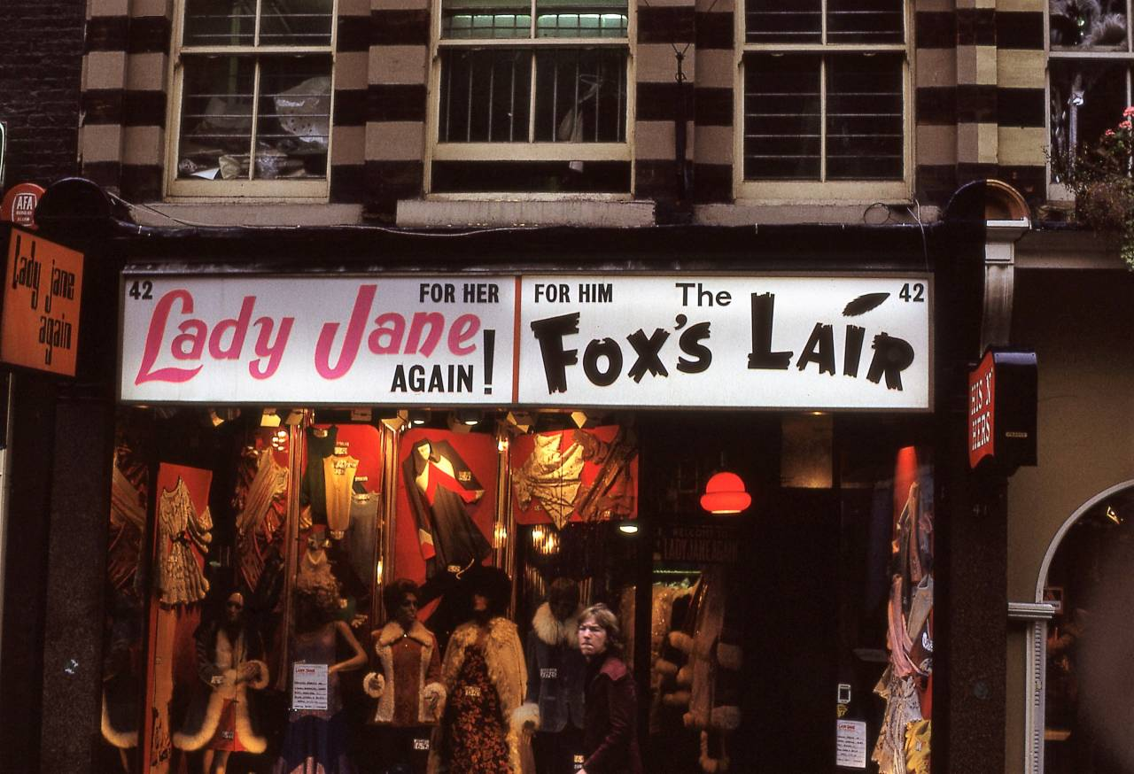 Lady Jane Again, Carnaby Street, London 1972