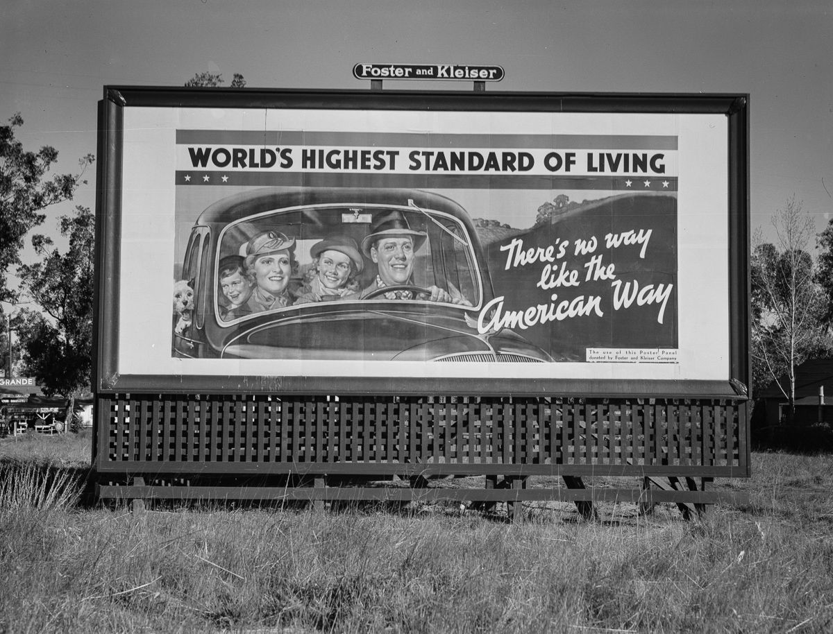 March 1937 Highway 99 in California.