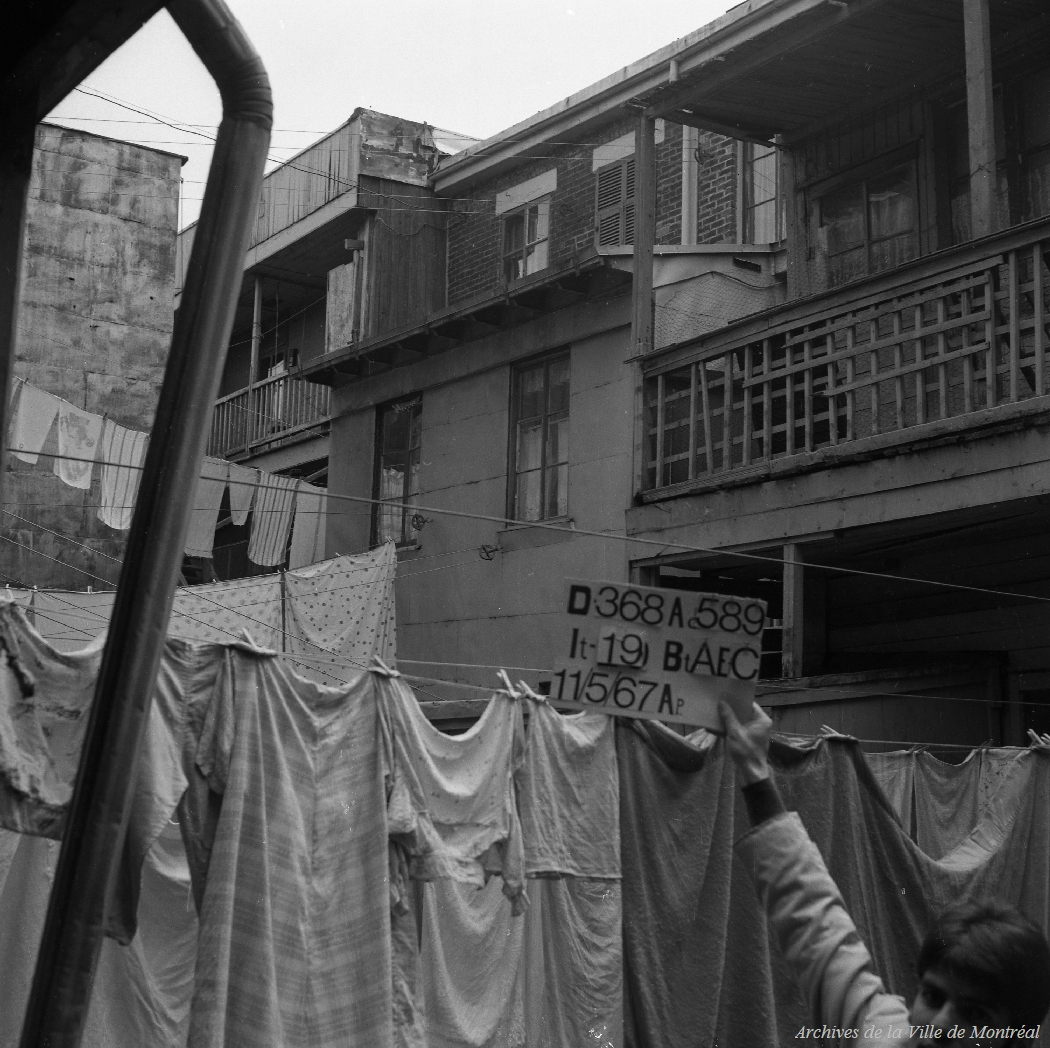 Expropriation rue Saint-Jacques et rue Quesnel – 11 mai 1967.