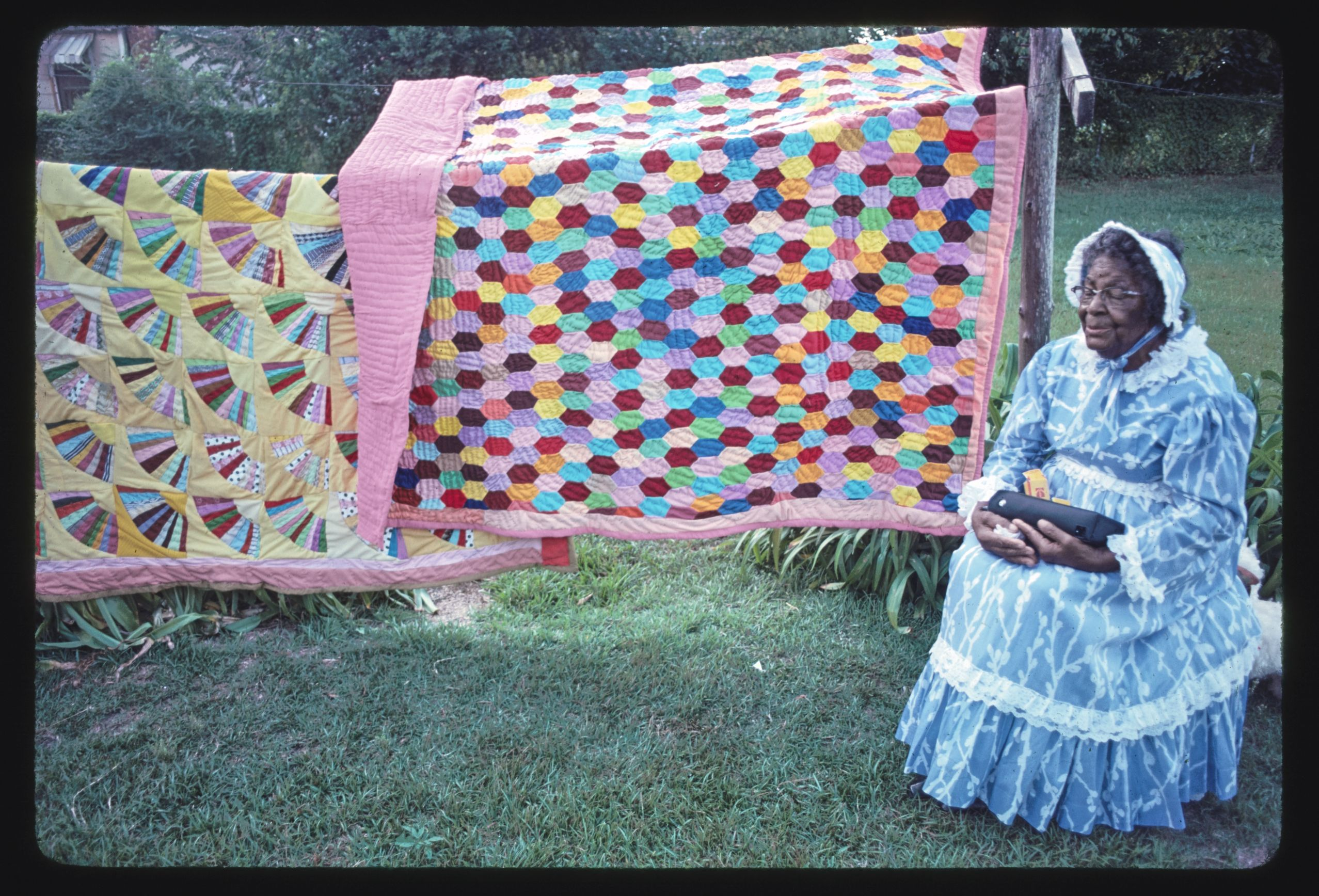 Mrs. Fannie Lee Teals, quilting, Tifton, Georgia