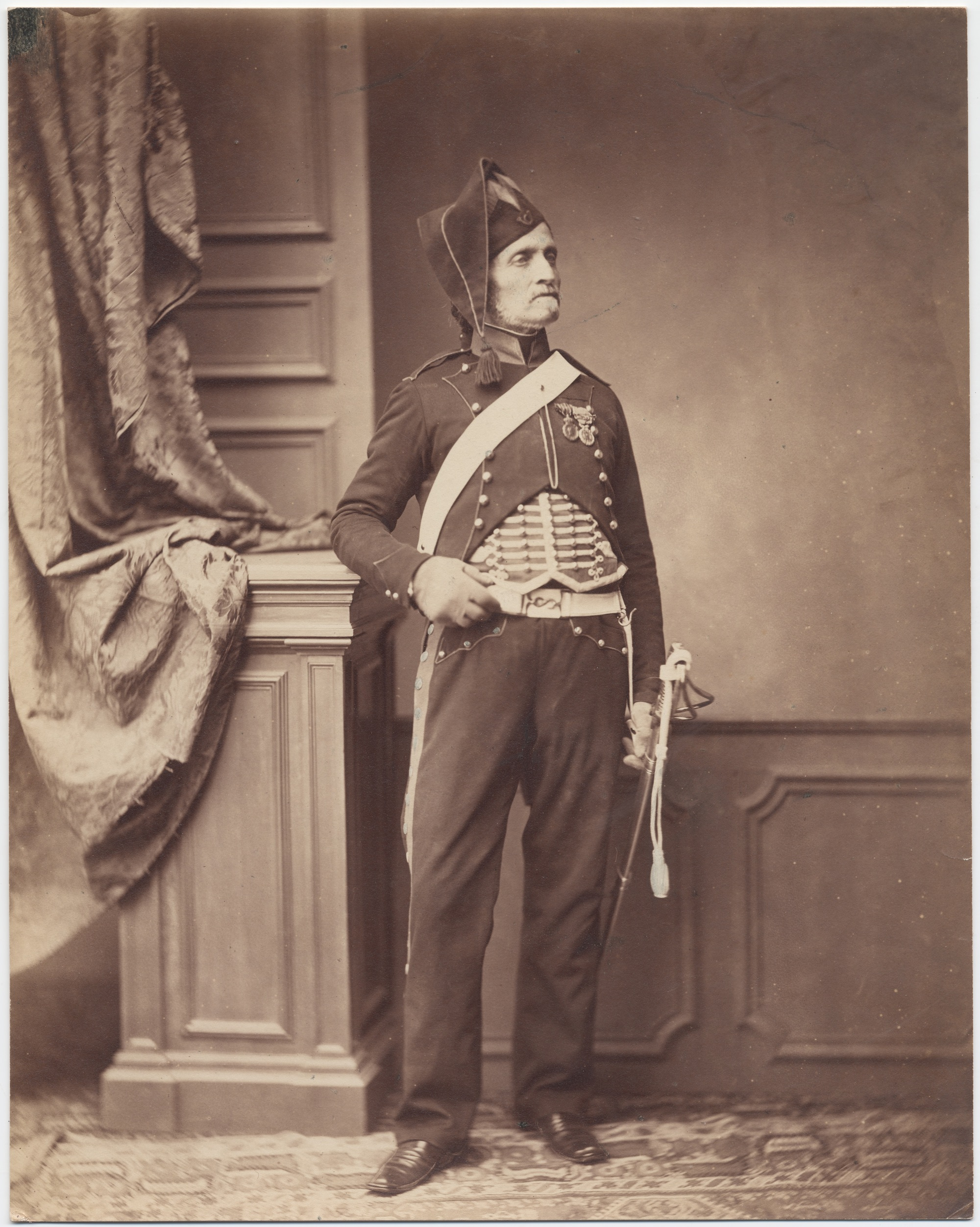 Monsieur Schmit, 2nd Mounted Chasseur Regiment, 1813-14