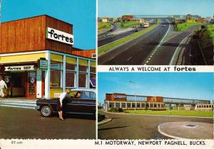 Newport Pagnell Services, M1 Motorway