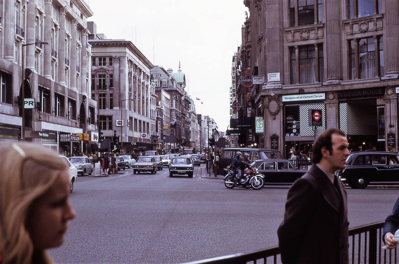 Oxford Circus, London 1972