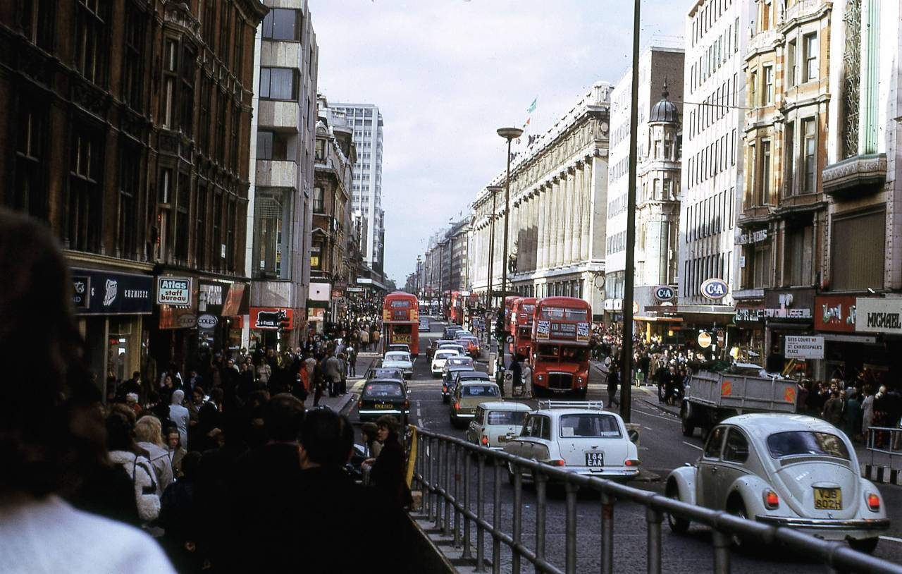 Oxford Street, London 1972 b