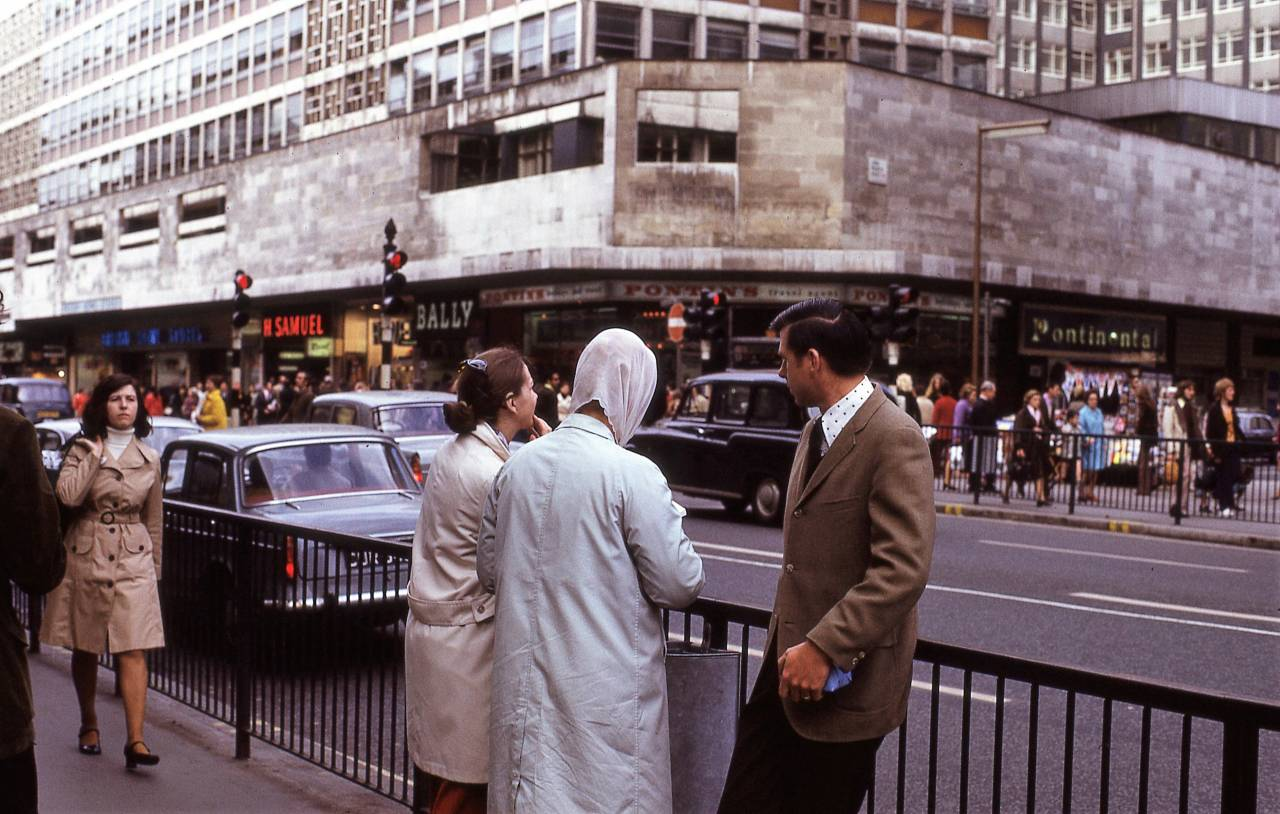 Oxford Street, London 1972 (junction with John Princes Street)