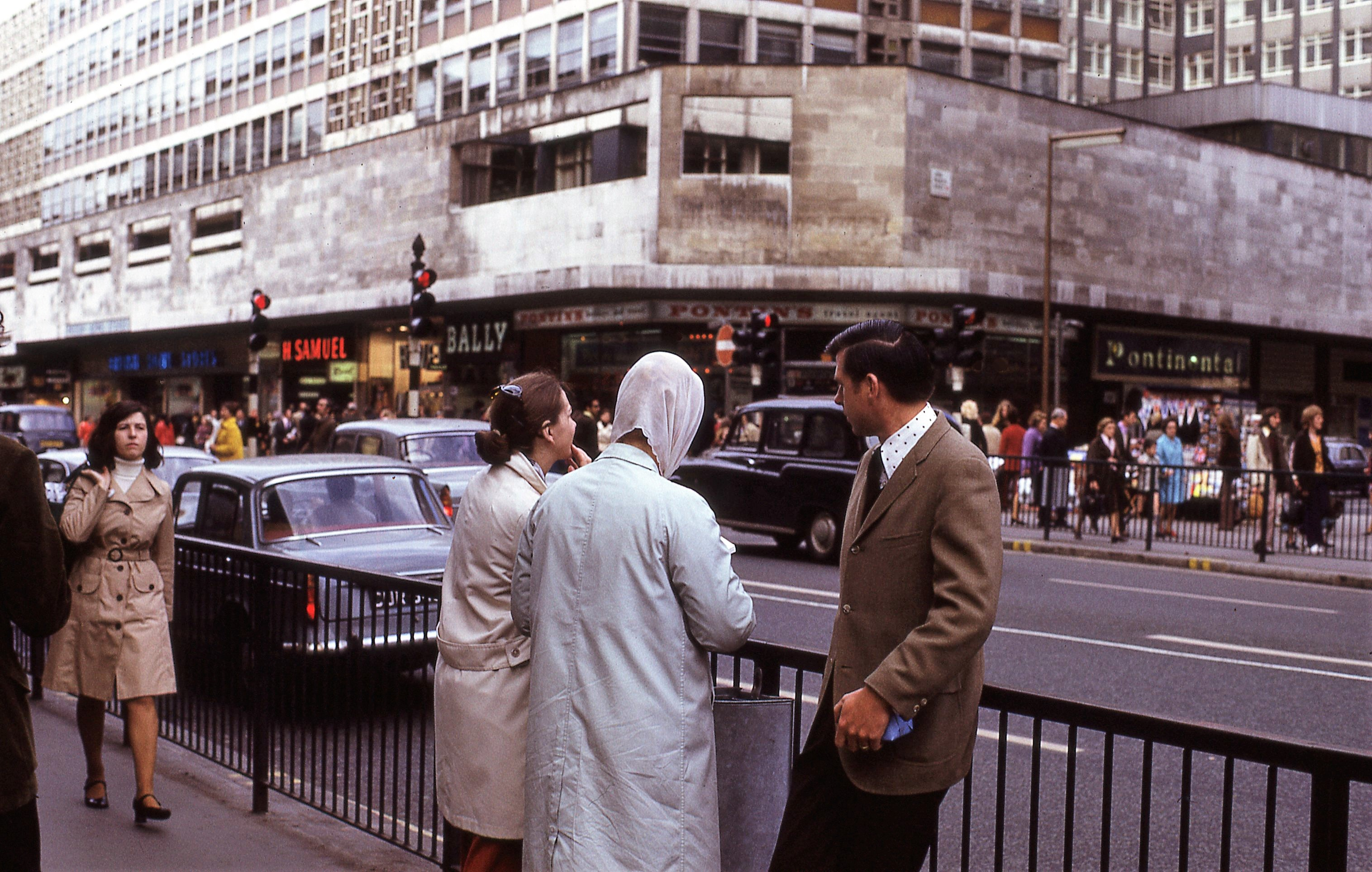 Oxford Street London 1972 Junction With John Princes
