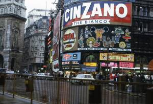 Piccadilly Circus, London 1972