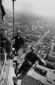 Post OFfice Tower construction May 1963