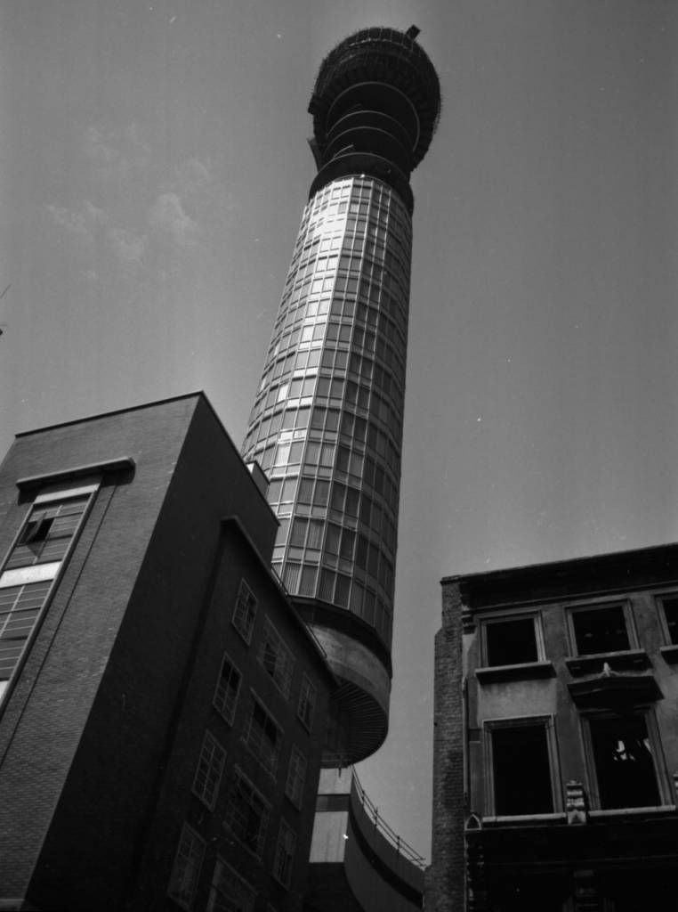 Post Office Tower in 1964
