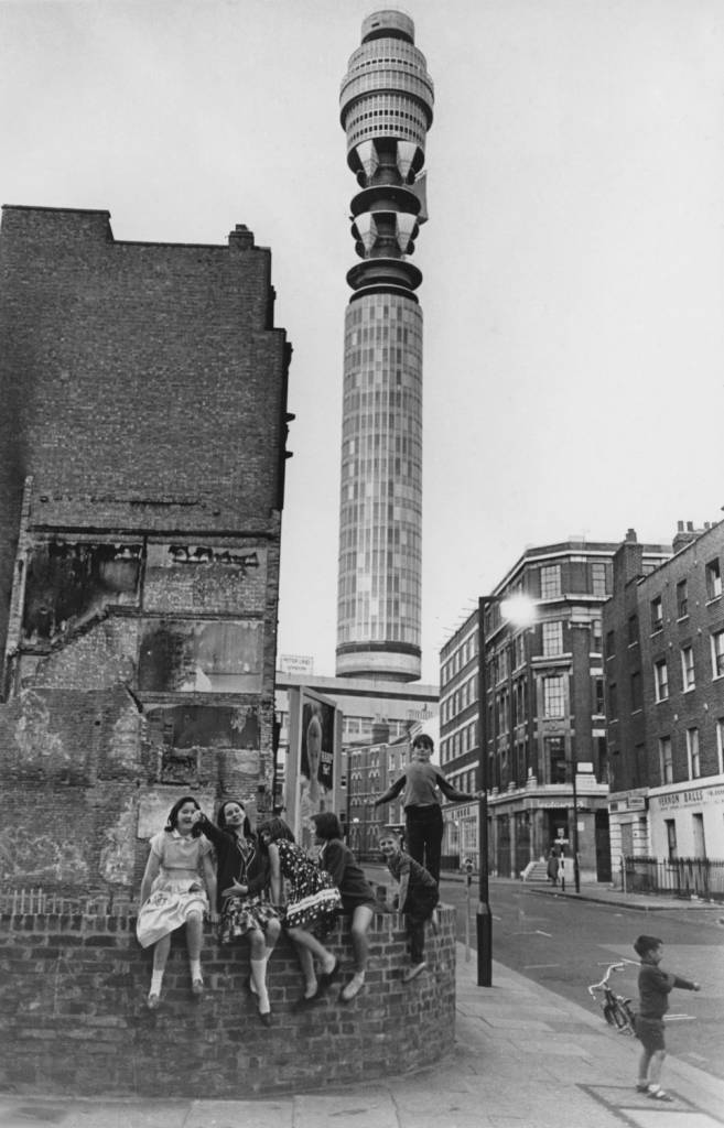 Post Office Tower in 1965