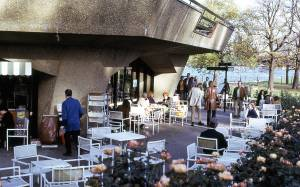Serpentine Cafe, Hyde Park, London 1972