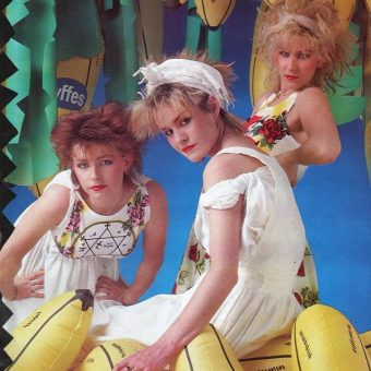 Bananarama in Smash Hits Magazine 1981-1986