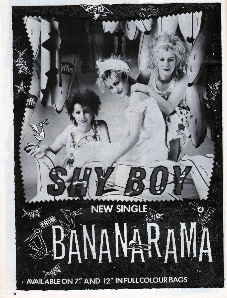 Smash Hits, June 24, 1982 - p.08 Ad for Shy Boy
