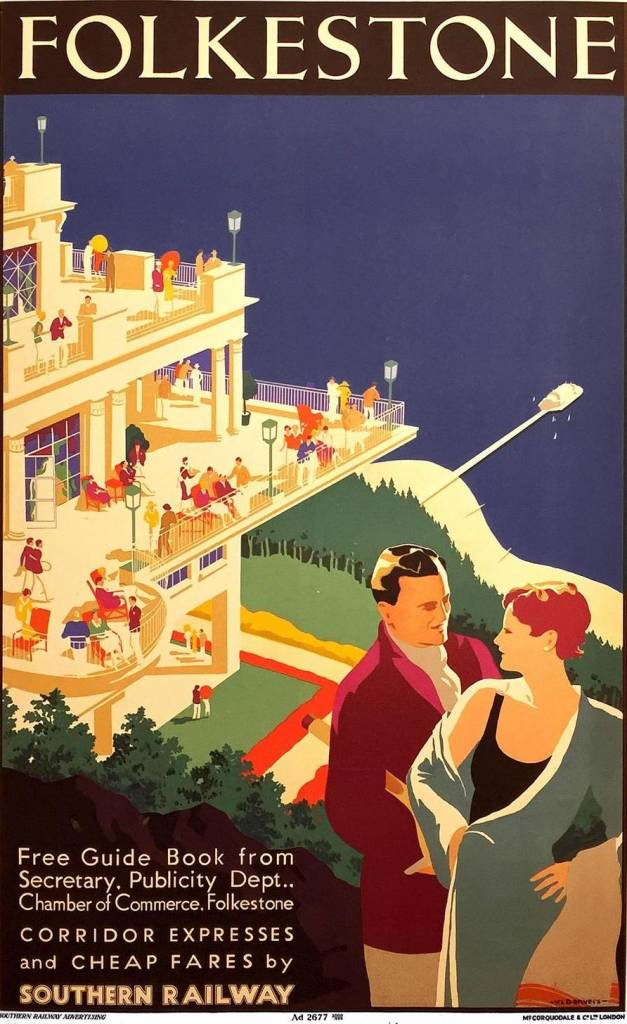 Southern Railways for Folkestone, designed by Verney L. Danvers in 1934.