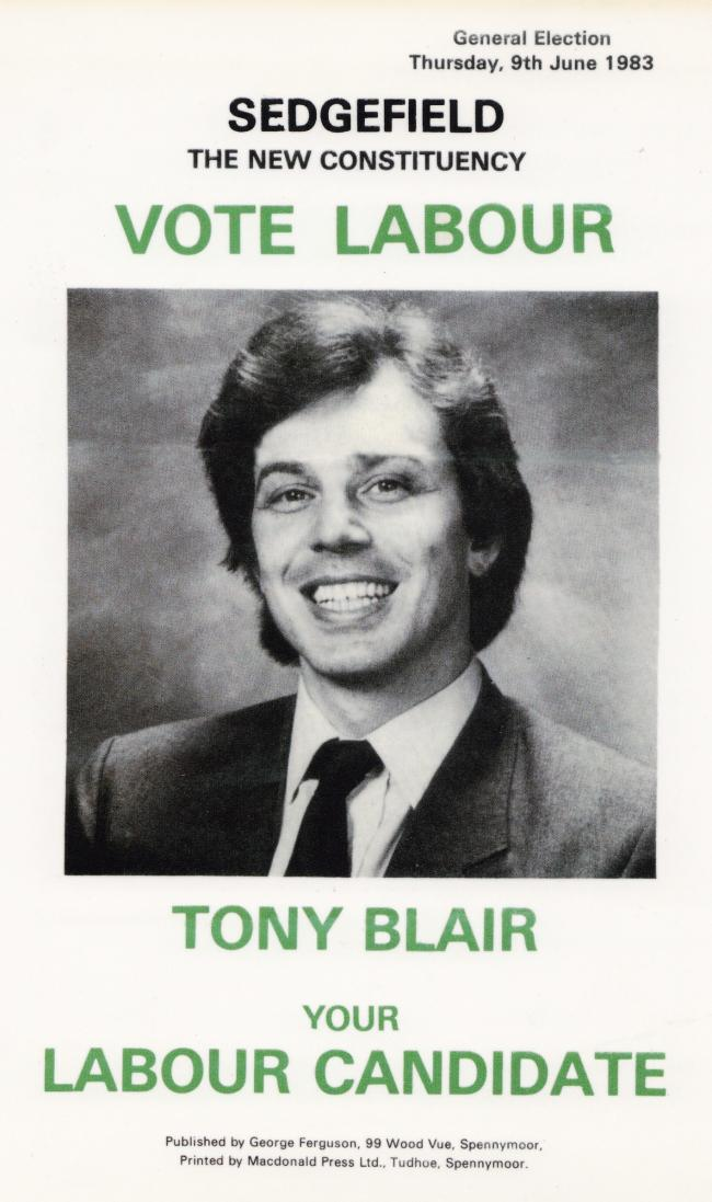 Tony Blair 1983 Gallery Flashbak