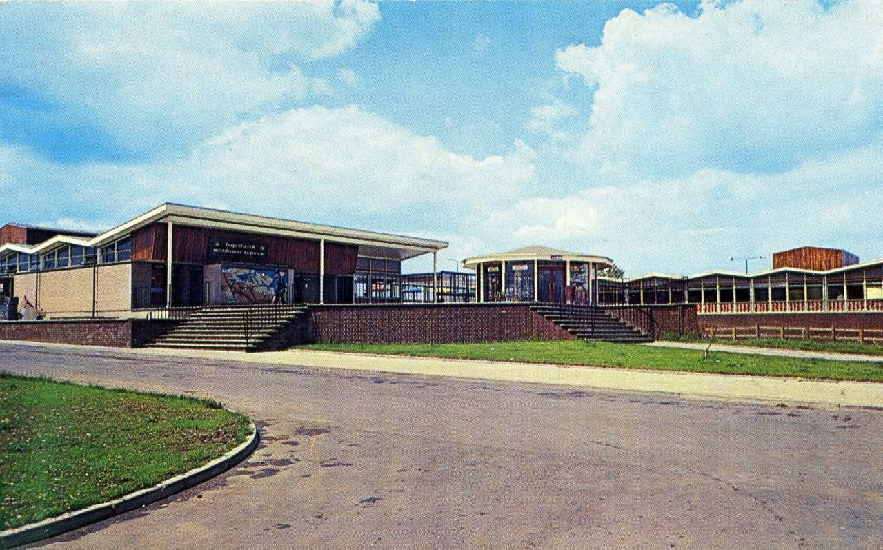 Top Rank M2 Services, Farthing Corner, Kent Now known as Medway services