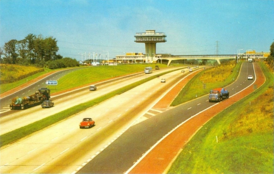 Top Rank Motorport, Forton Services, M6 Motorway
