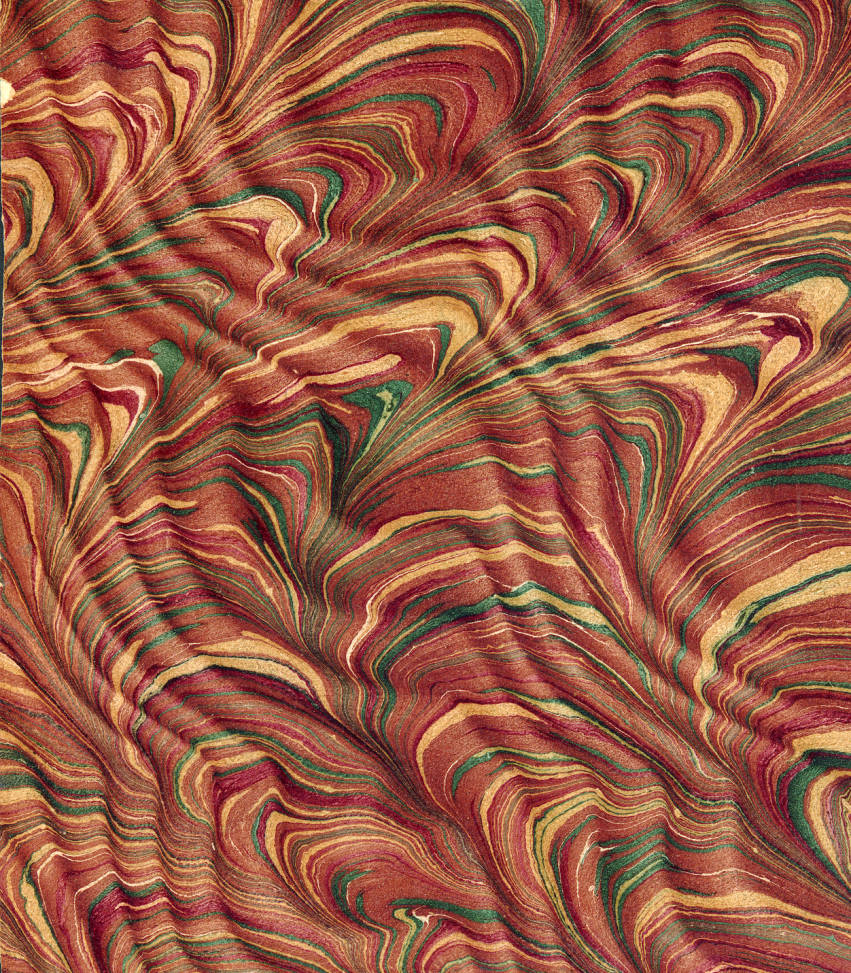 Vintage_19th_c_marbled_paper_Spanish_moir_on_Serpentine_pattern