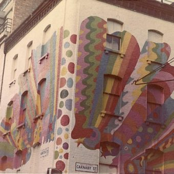 Postcards: Carnaby Street Over-Amped In 1966