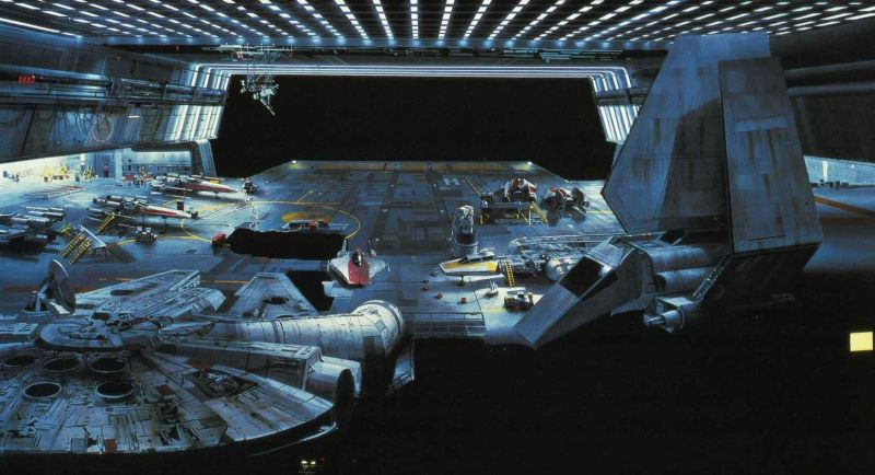 star wars matte paintings h