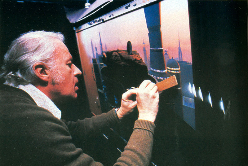 star wars matte paintings