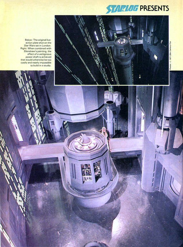 star wars matte paintings p
