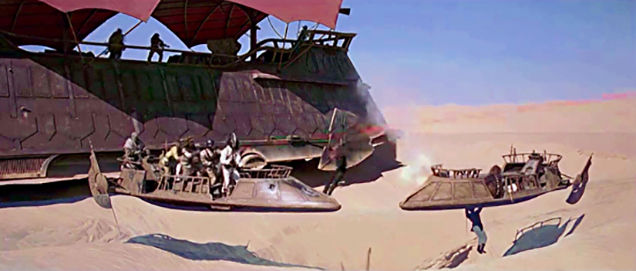 star wars matte paintings u