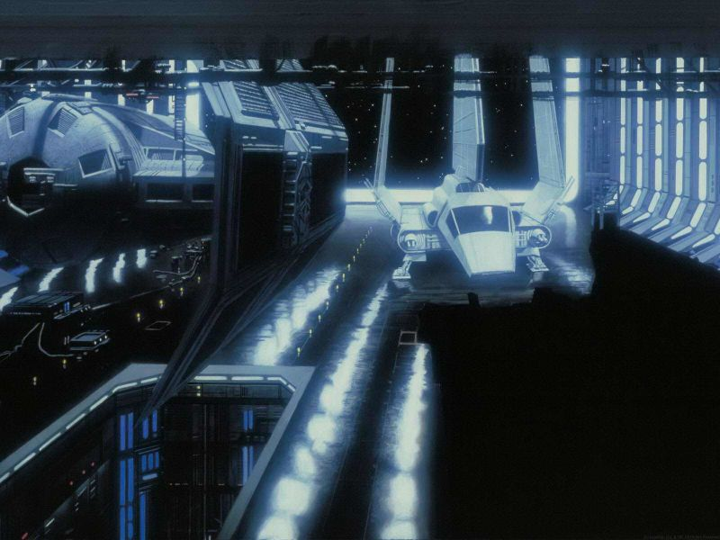 star wars matte paintings v