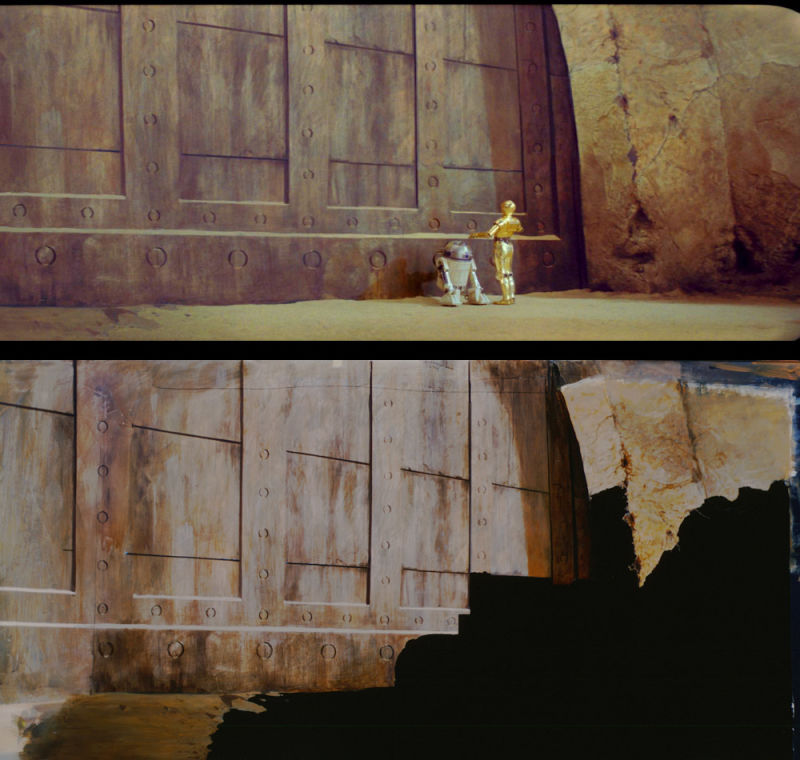 star wars matte paintings w