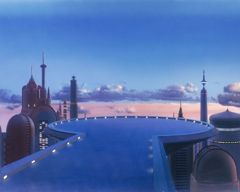 star wars matte paintings zzzz