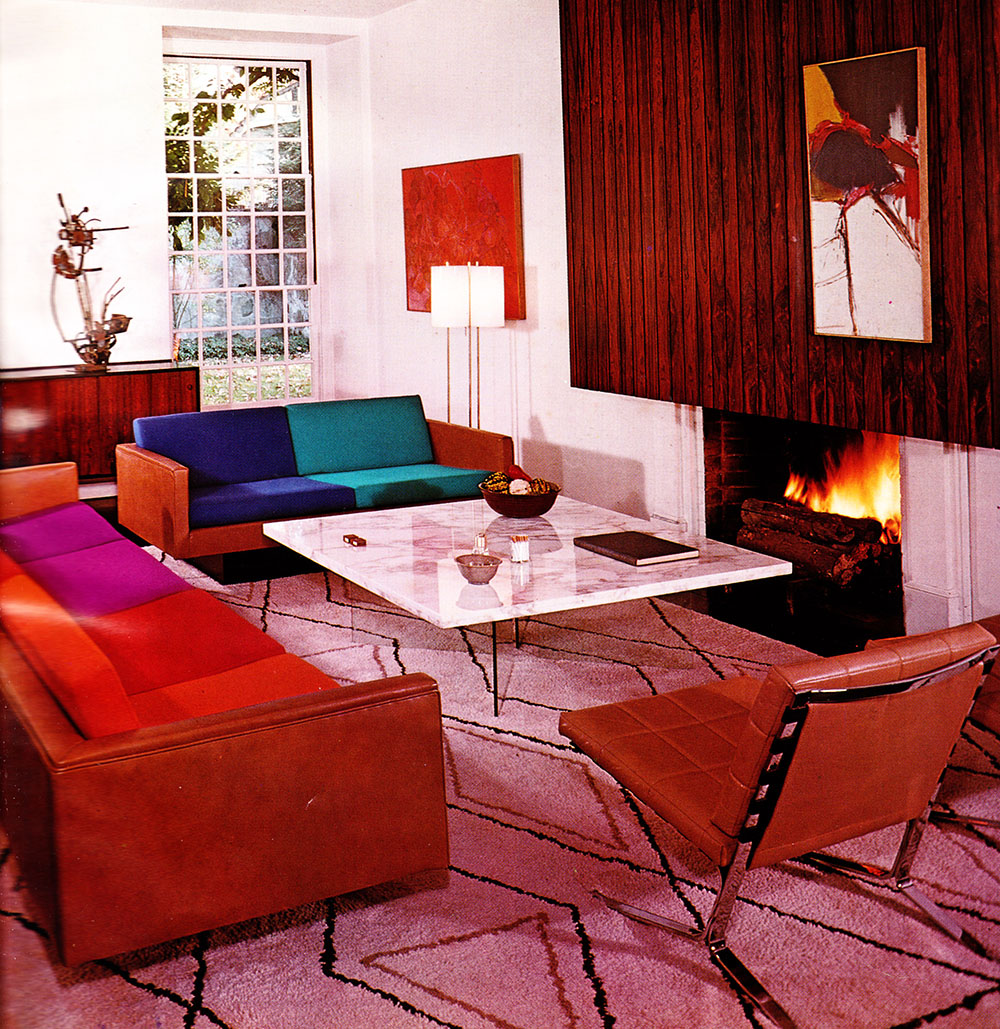 home 39 65 a groovy look at mid sixties interior d cor flashbak. Black Bedroom Furniture Sets. Home Design Ideas