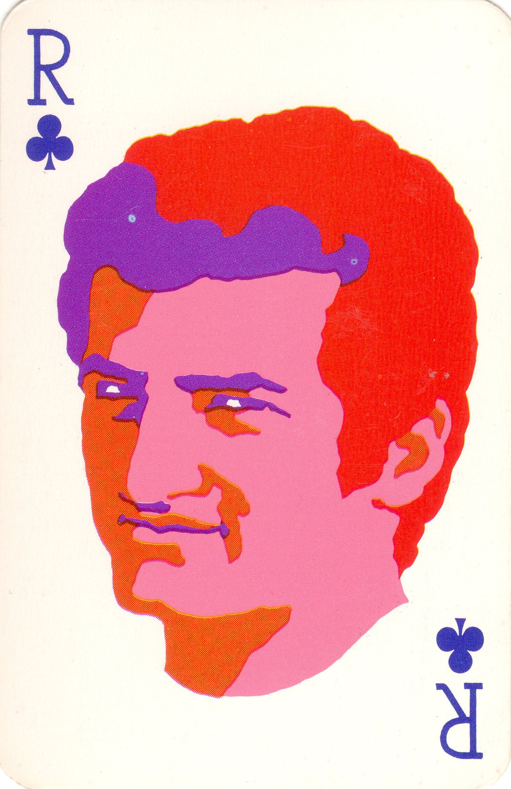 1960s playing cards groovy