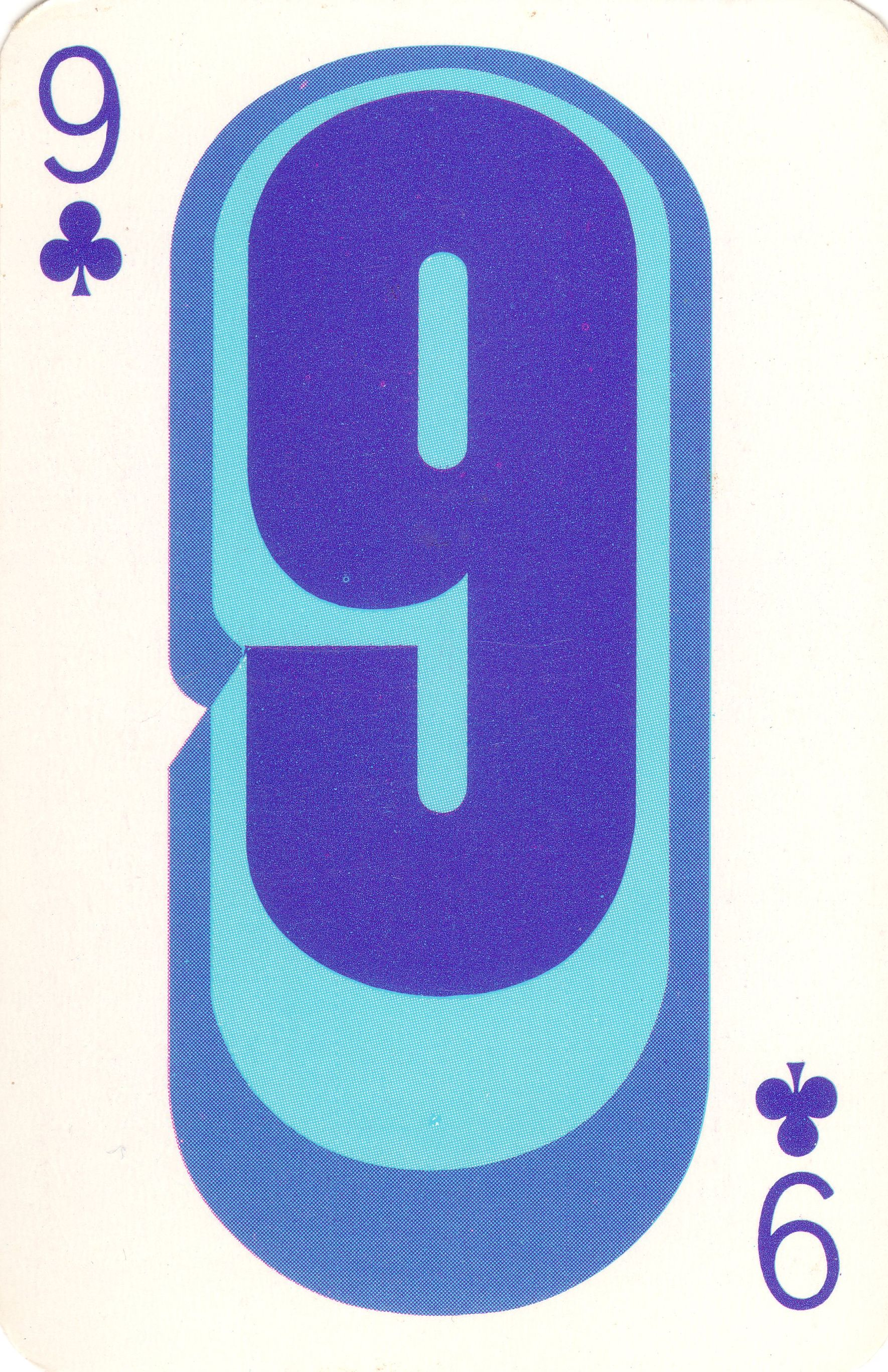1960s playing cards groovy-9