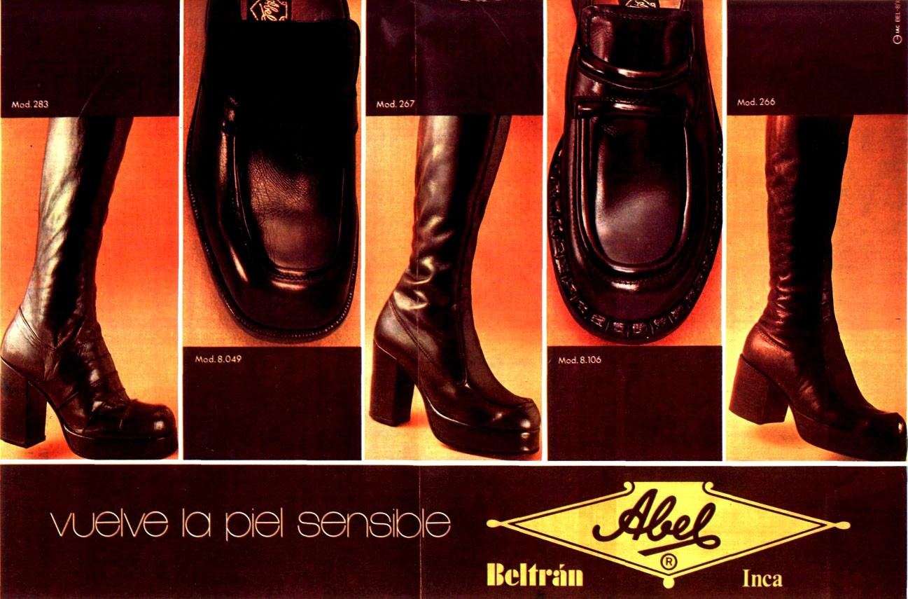 70s mens boots high boots