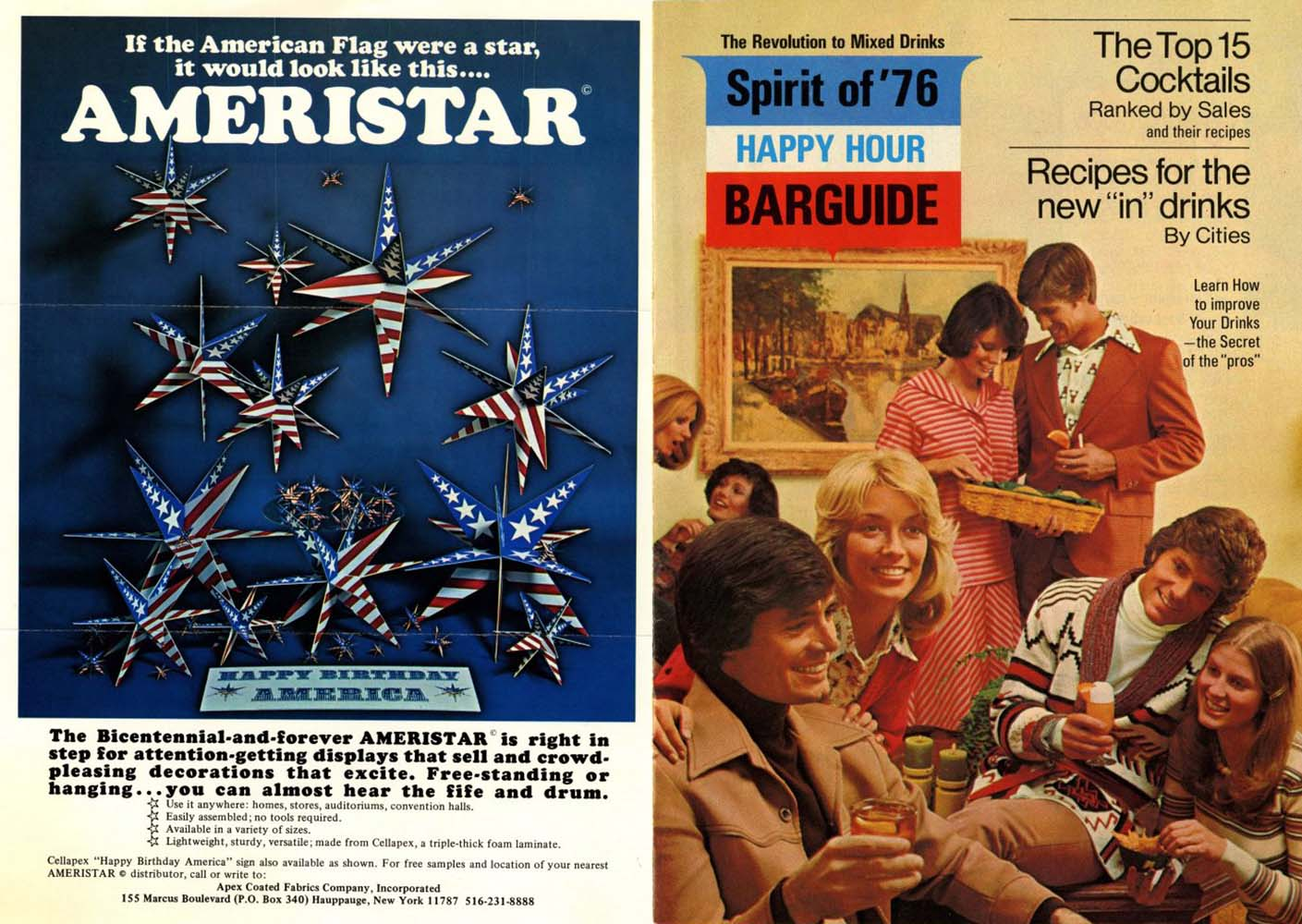 Ameristar and bar guide 1976