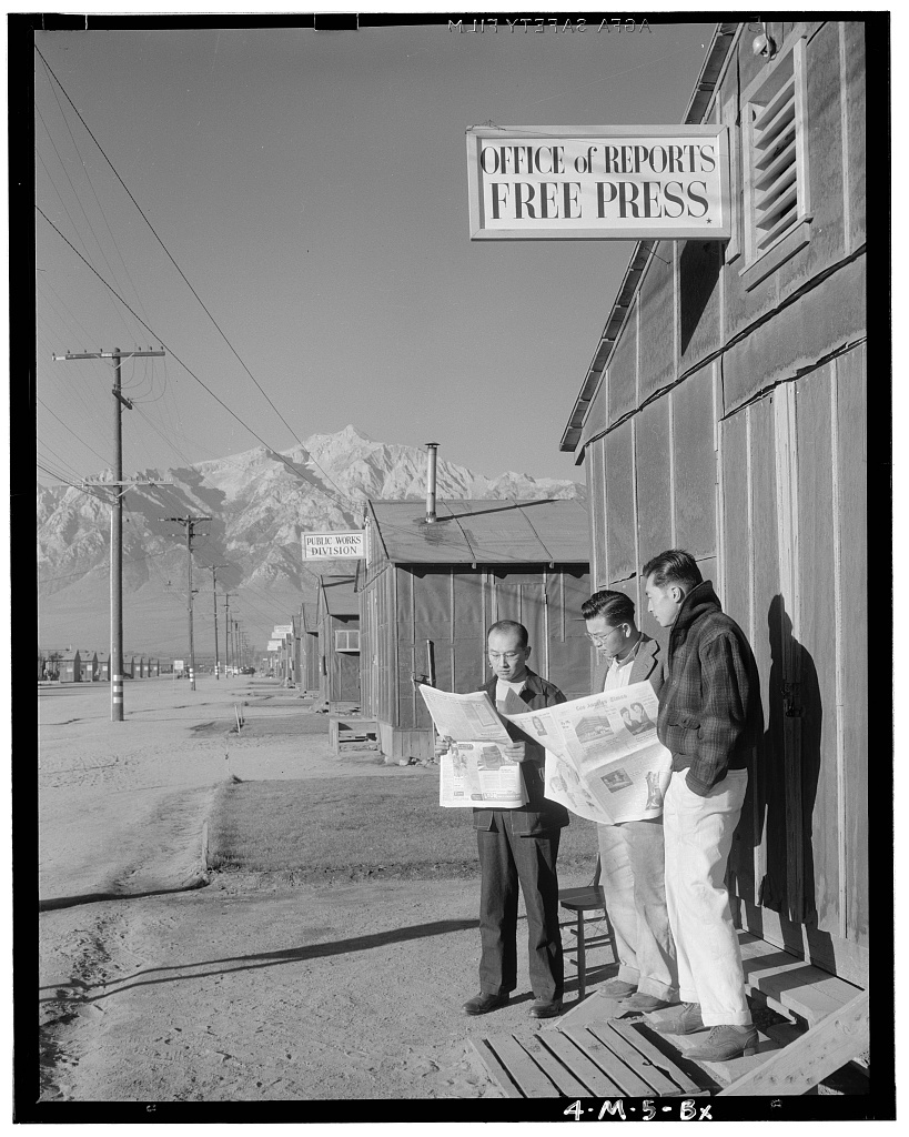 Ansel Adams WWII Japan Internment