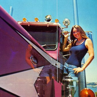 Trucker Magazine Calendar Girls of the 1970s