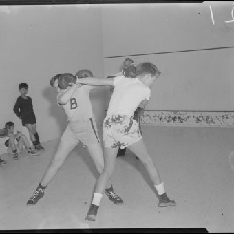 Who Were These Young Boxers In A Mid-Century Boston Gym?