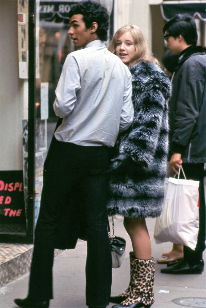 Carnaby Street, London 1966 furcoat