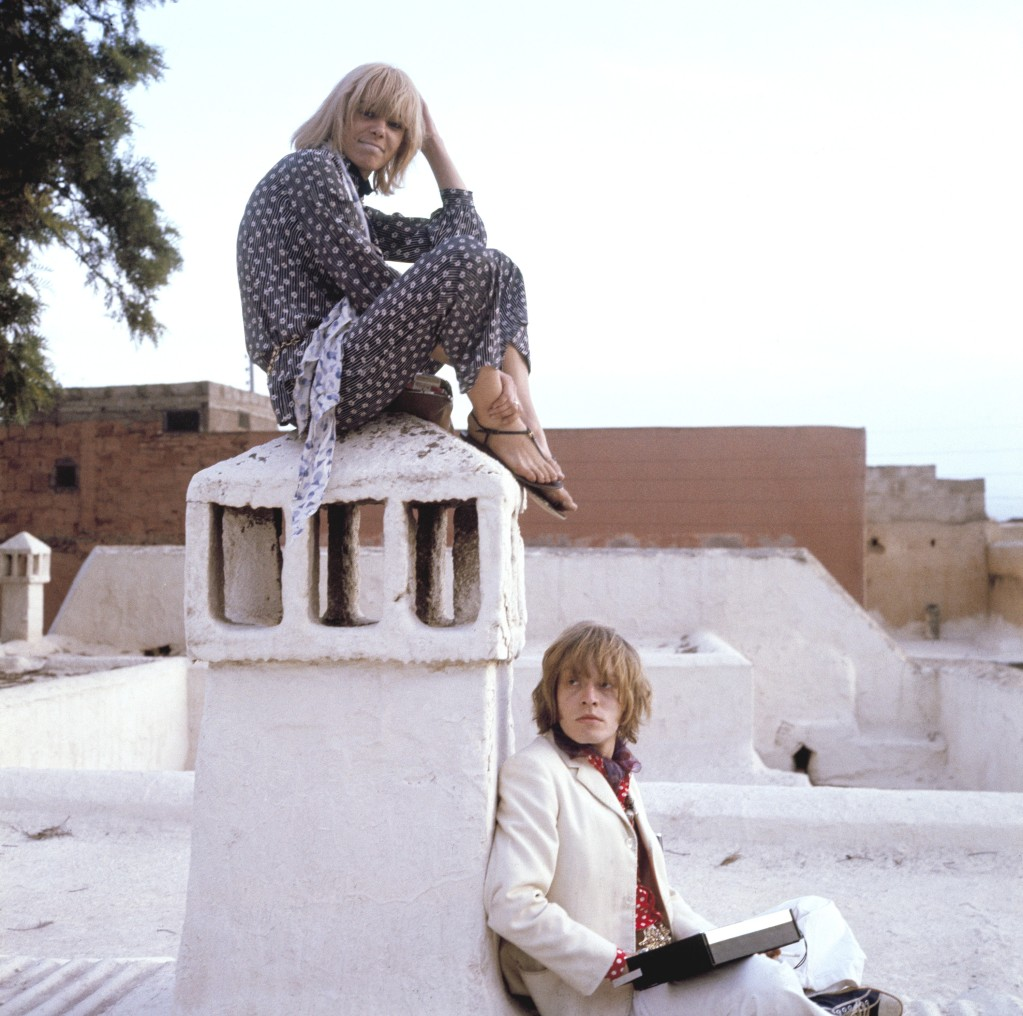Cecil Beaton, Portrait of Brian Jones and Anita Pallenberg in Morocco, 1967.