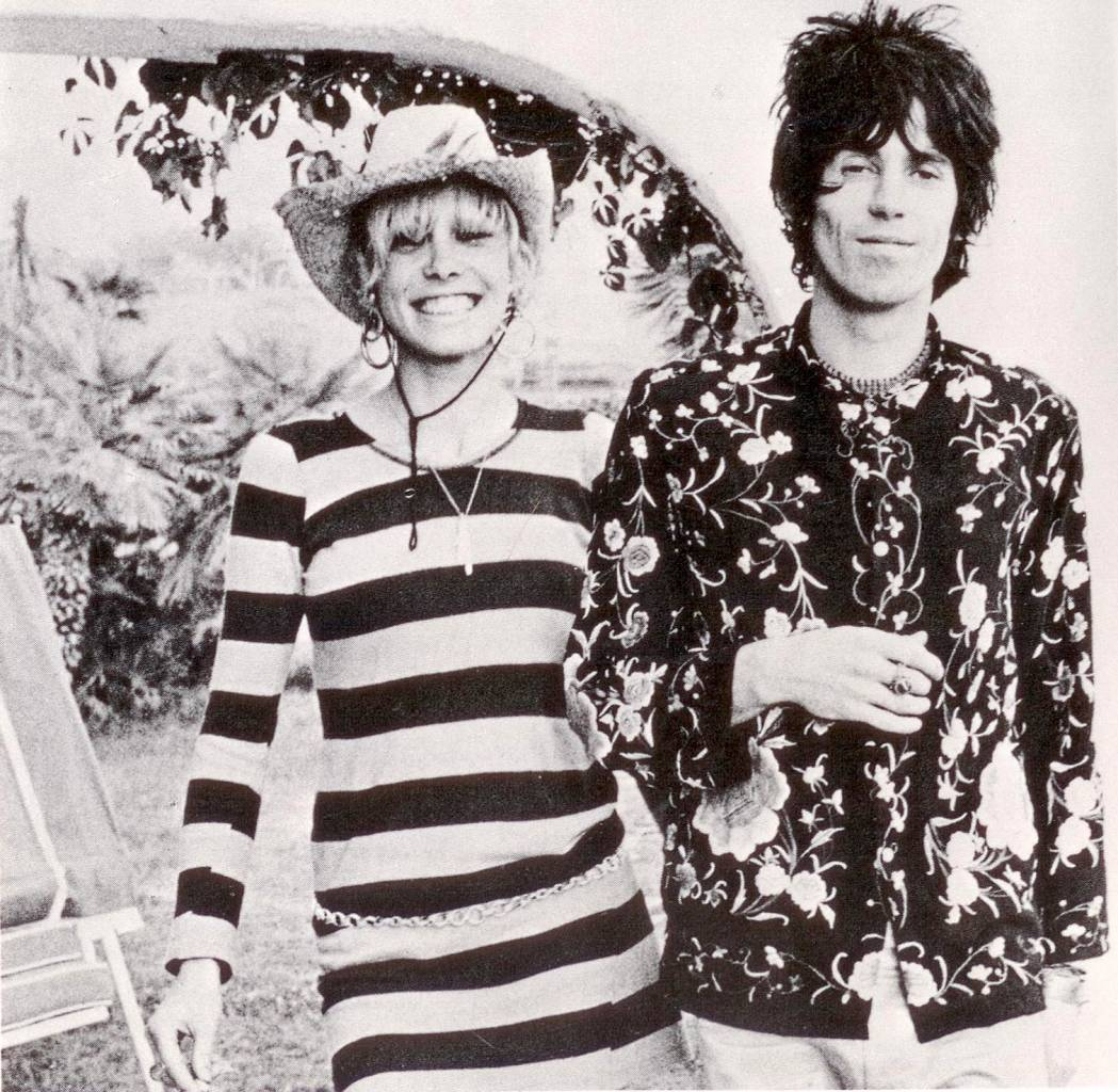 Dominique Tarlé, Portrait of Anita Pallenberg and Keith Richards, Villa Nellcôte, in the South of France in the Spring and Summer of 1971