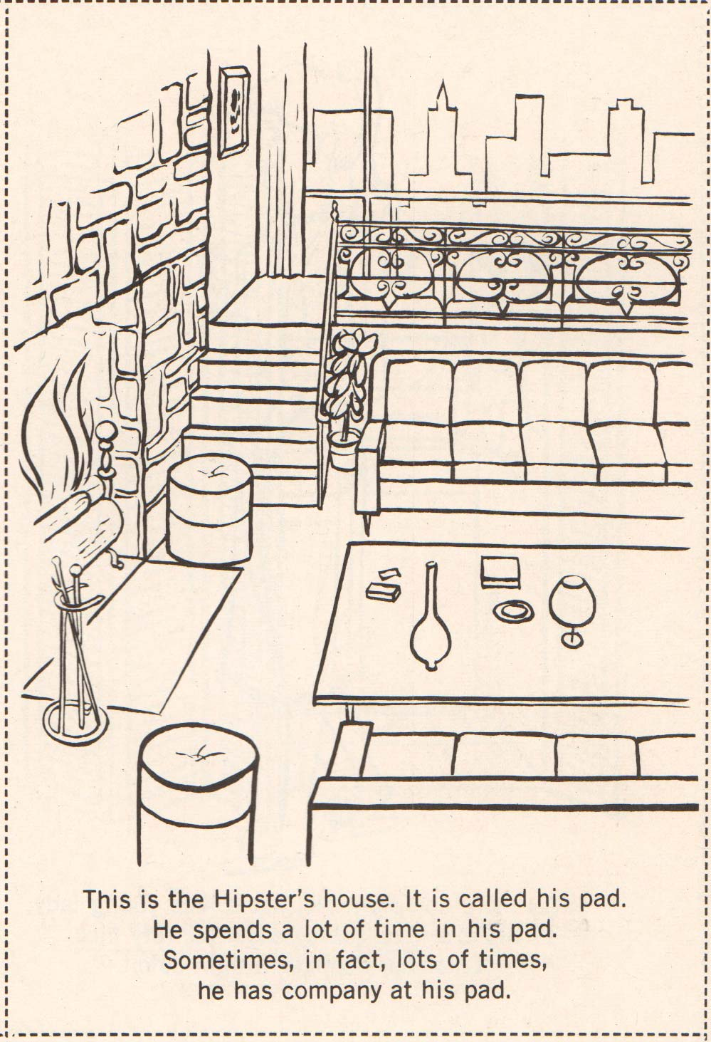 Hipster Coloring Book 1962 (02)