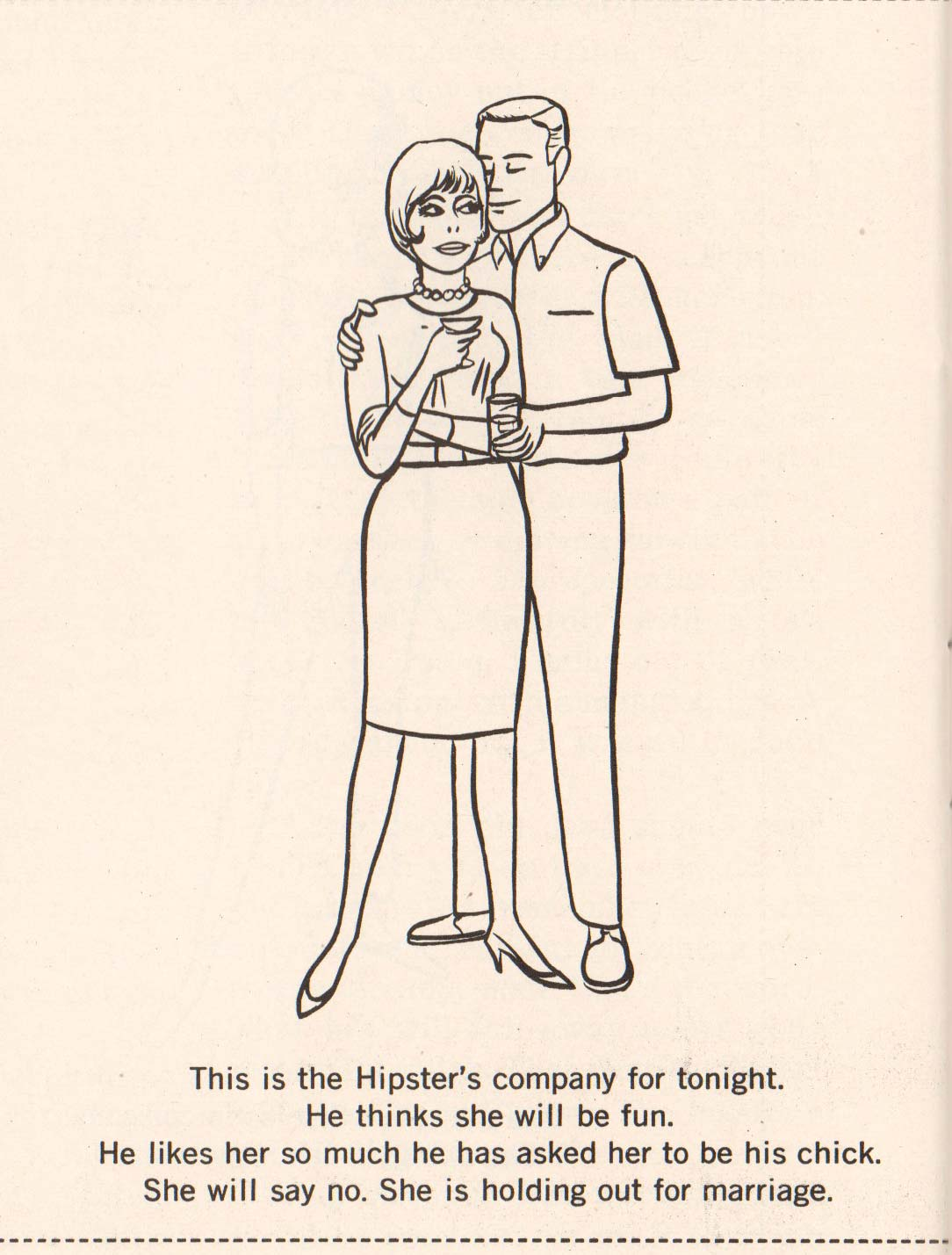 Hipster Coloring Book 1962 (08)