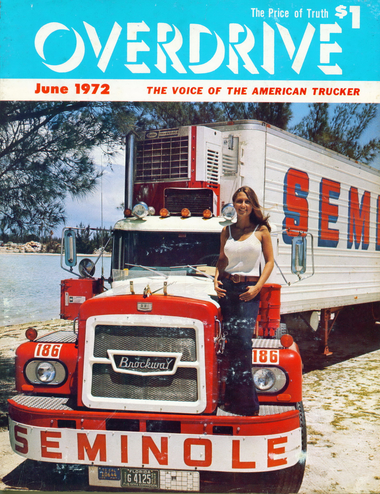 Overdrive Magazine (1972 1973): Voice of the American Trucker
