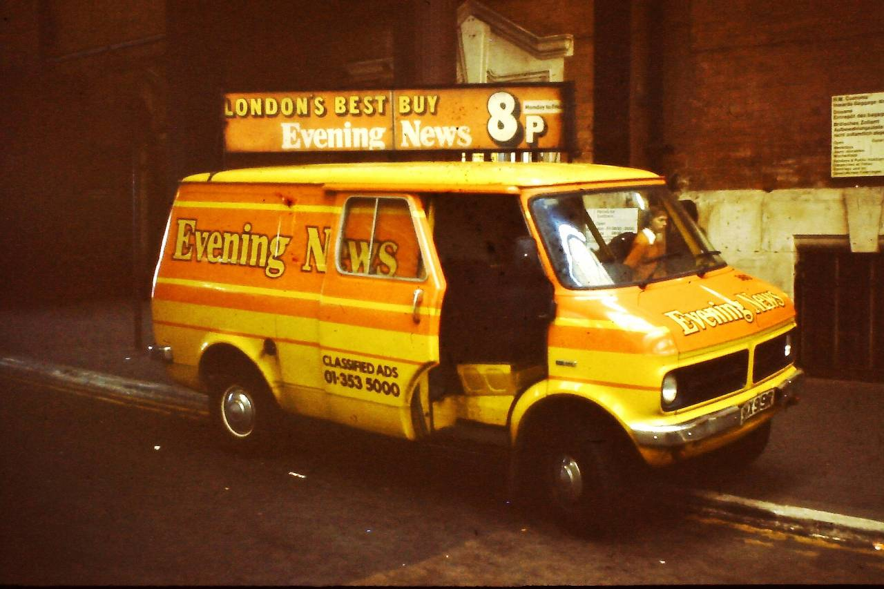Evening News Bedford Van