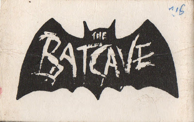 Membership card for the Batcave nightclub, 69-70 Dean Street, London (1982)