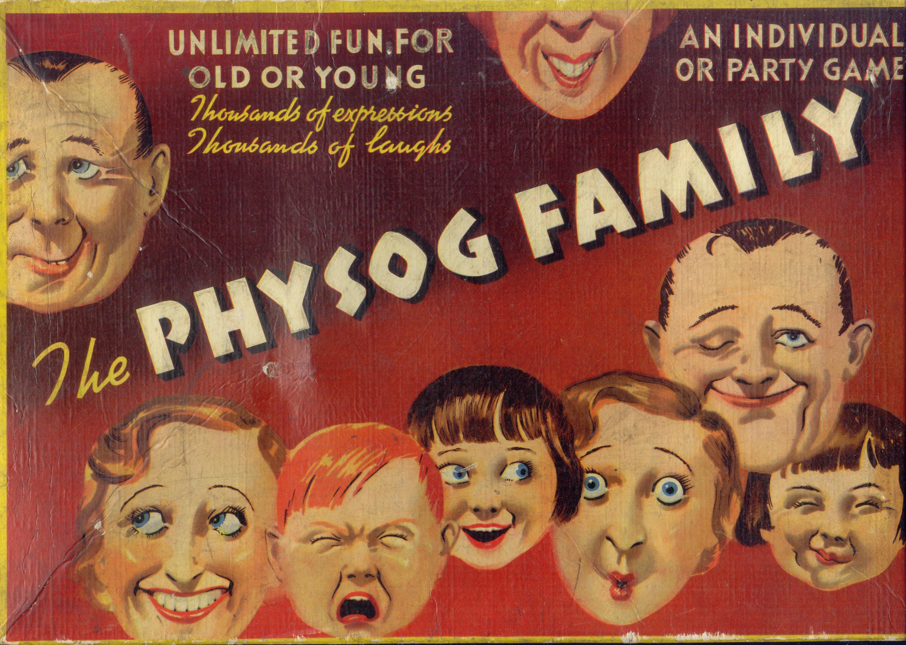 Physogs (1930) Jacques Penry photo-fit